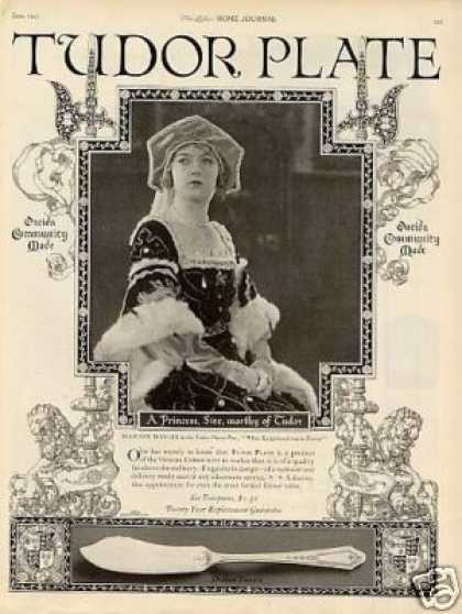 Tudor Plate Ad Duchess Pattern (1923)