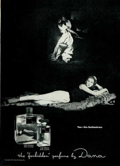 Dana Enchantress Perfume Bottle (1951)