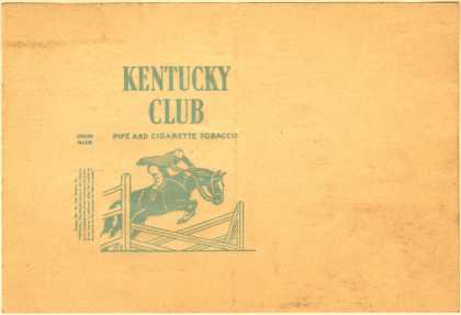 Kentucky Club's Tobacco for Pipe and Cigarettes – Kentucky Club Pipe and Cigarette Tobacco