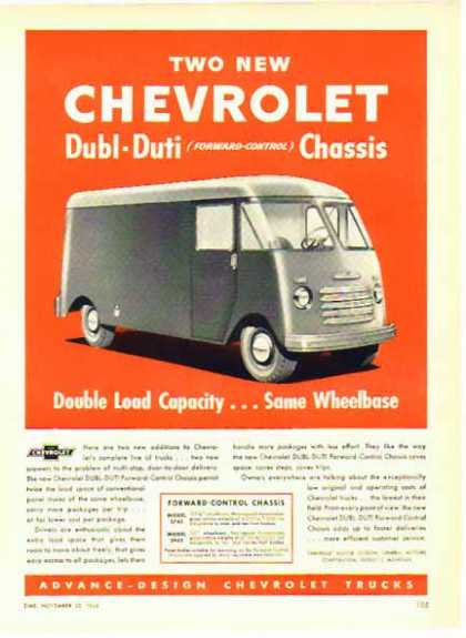 Chevrolet Trucks – The New Dubl-Duti (1948)