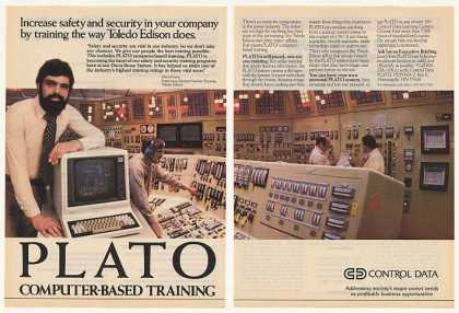 Toledo Edison Control Data PLATO Computer (1983)