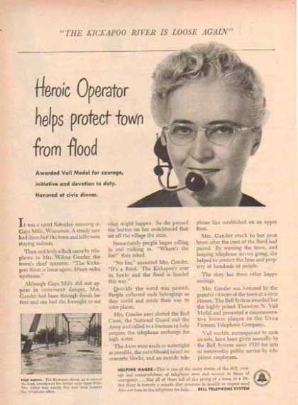 Bell Telephone System – Heroic Operator Story (1952)