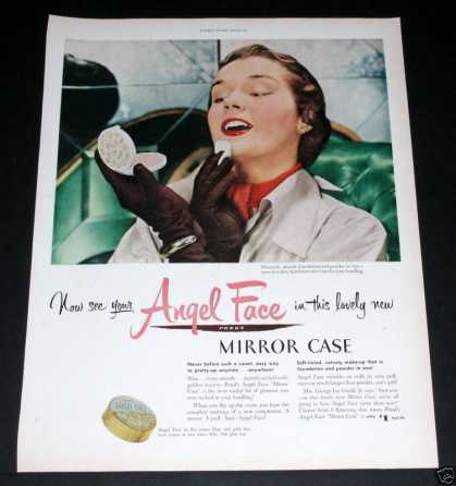 Pond's Angel Face, Mirror Case (1951)