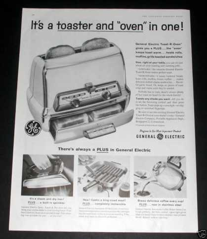 General Electric, Toaster Oven (1959)