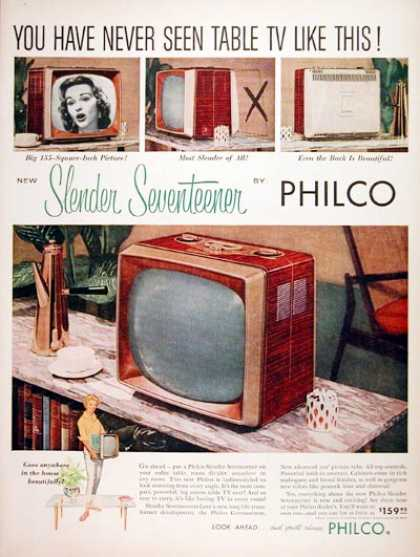 Philco Portable TV Set #2 (1957)
