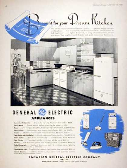 GE Kitchen Appliances (1950)