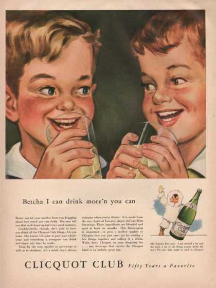 Clicquot Club Pale Dry Soda (1942)