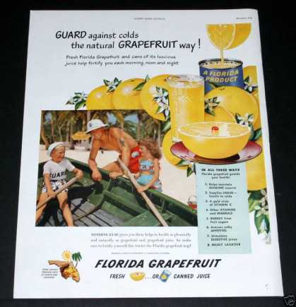 Florida Grapefruit Juice (1949)