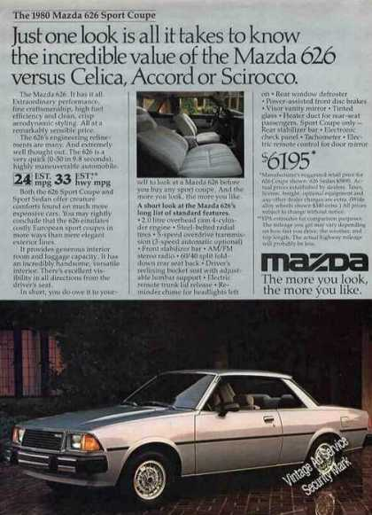 Mazda 626 Sport Coupe Photo Car (1980)