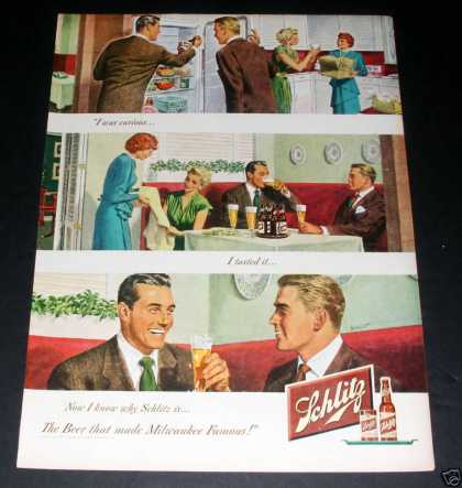 "Schlitz Beer ""Made Milwaukee Famous"" (1949)"