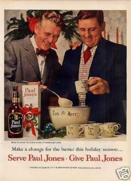 Paul Jones Whiskey (1954)