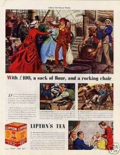 Lipton Tea Color (1939)