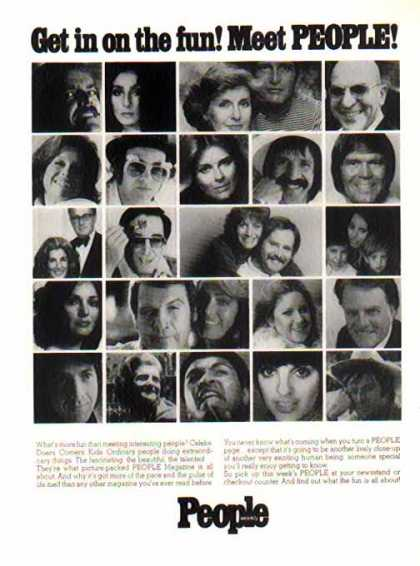 People Weekly – Stars of the 70's (1976)