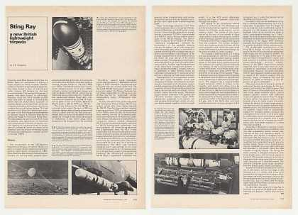 Sting Ray British Torpedo 3-Page Photo Article (1980)