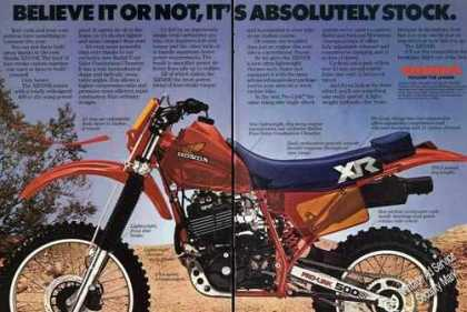 Honda Xr500r Motorcycle Large (1983)