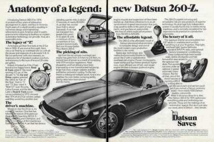"Datsun 260-z ""Anatomy of a Legend"" Car (1974)"