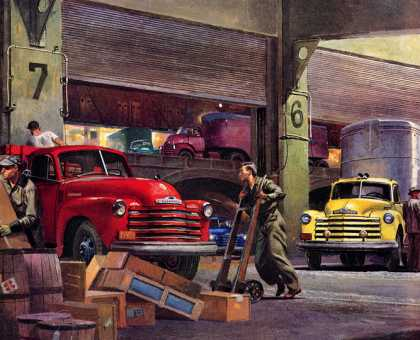 Chevrolet Trucks Peter Helck (1952)