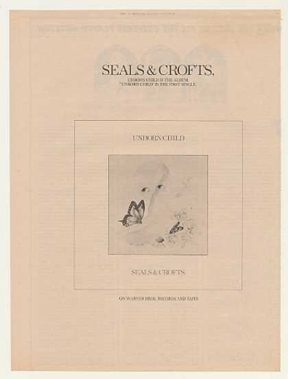 Seals &amp; Crofts Unborn Child Warner Bros (1974)