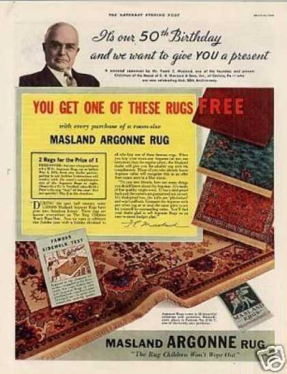 Masland Argonne Rugs Color (1936)