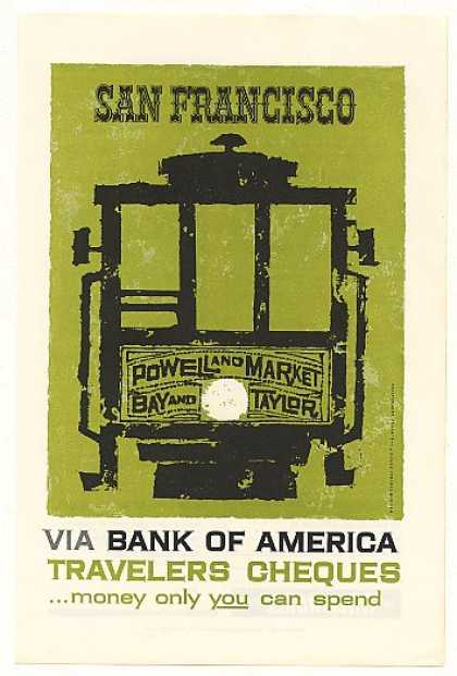 San Francisco Cable Car Bank of America (1958)