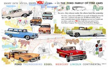 Ford Family of Fine Cars #1 (1958)