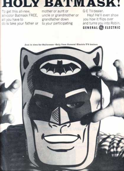 Batman Mask&#8217;s General Electric (1966)