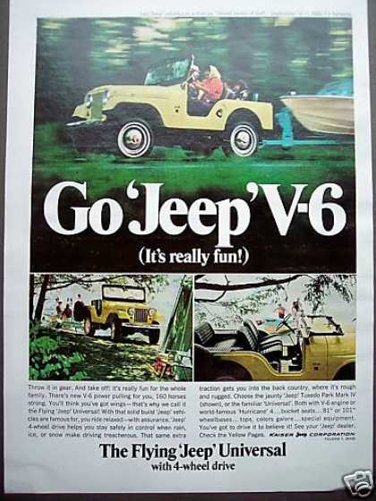 Flying Jeep Universal V-6 4wd Car (1966)