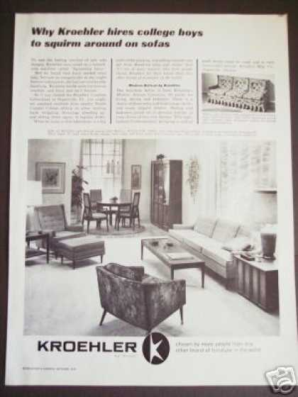 Kroeher Furniture 60's Home Decor (1963)