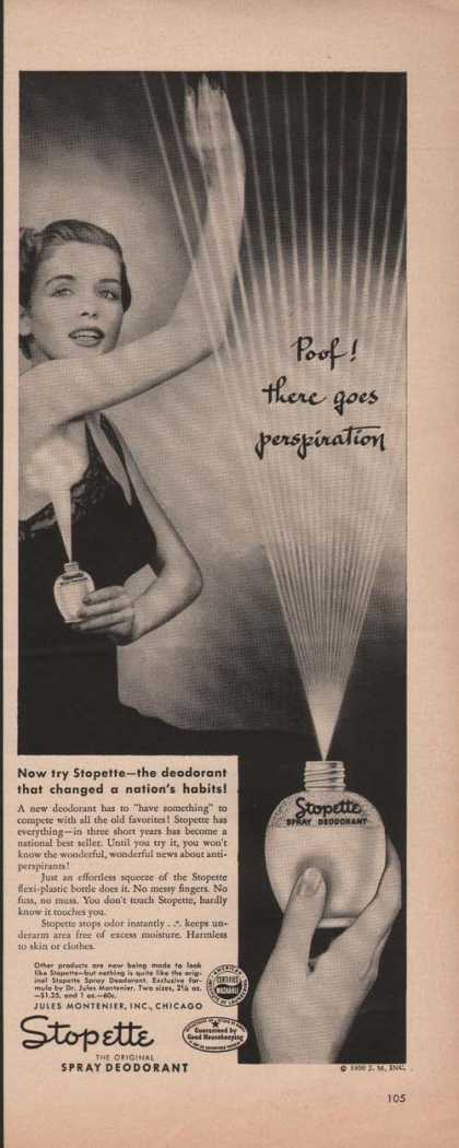 Stopette Ladies Spray Deodorant (1950)