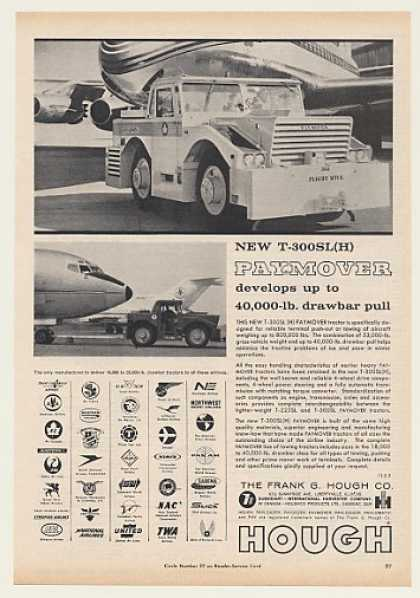 Hough T-300SL(H) PayMover Aircraft Tractor (1964)