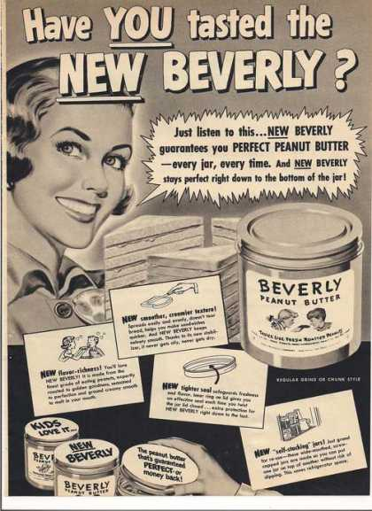 Beverly Peanut Butter (1951)
