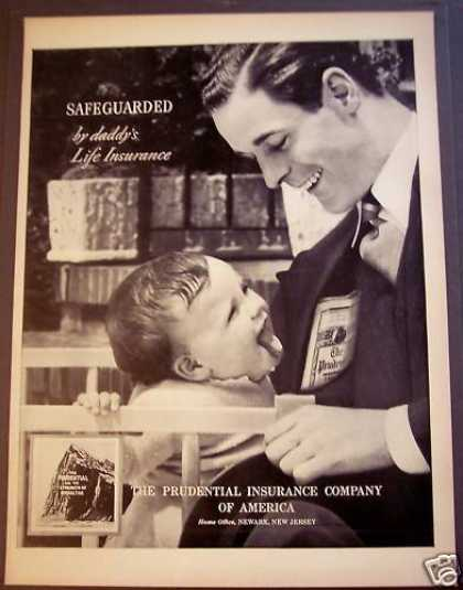 Prudential Life Insurance Daddy & Baby (1939)