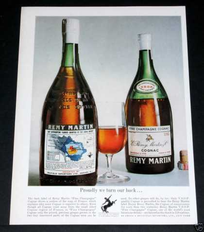 Remy Martin Cognac Champagne (1964)