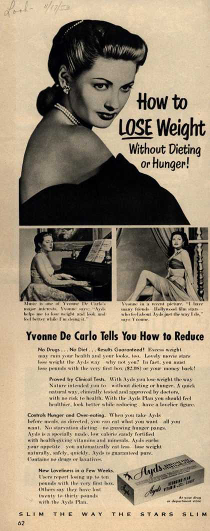 Carlay Company, Incorporated's Ayds – How to Lose Weight Without Dieting or Hunger (1953)
