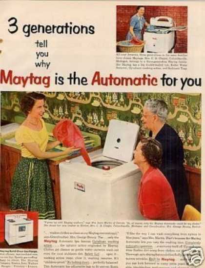 Maytag Automatic Washer (1952)