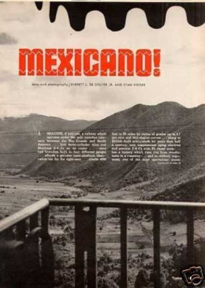 """Mexicano!"" Article/ferroca (1961)"