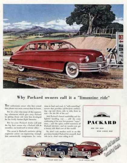 Packard Custom Eight Limousine Art Car (1948)