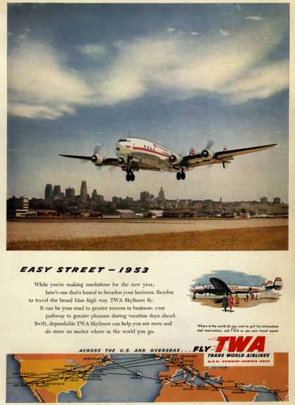 Trans World Airline's Skyliners – Easy Street- 1953 (1953)