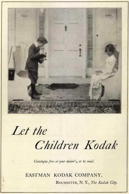 Kodak – Let the Children Kodak (1916)
