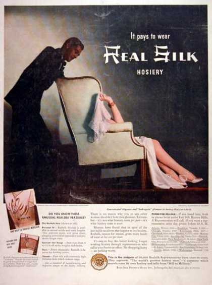 Real Silk Hosiery (1940)