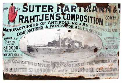 Suter Hartmann and Rahtjen's Composition Sign