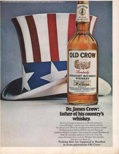 Old Crow Father of His Countrys Whiskey (1969)