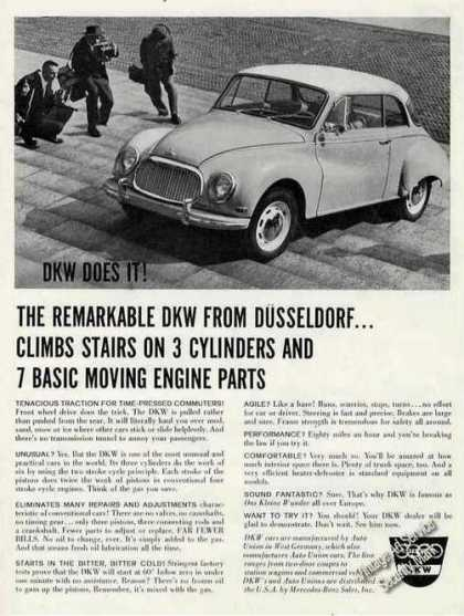 """The Remarkable Dkw From Dusseldorf"" (1960)"