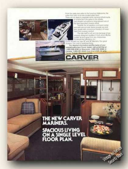 New Carver Mariners Single Level Boat Promo (1985)