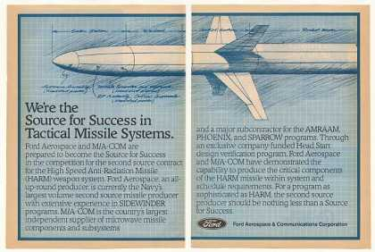 Ford Aerospace HARM Missile System (1982)