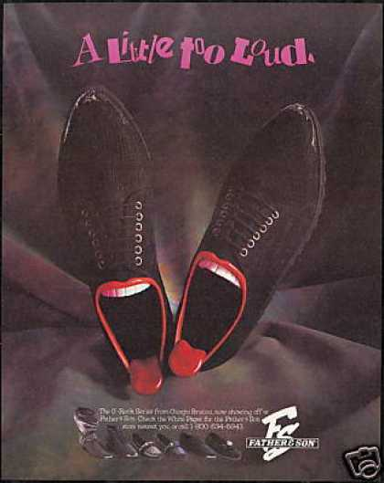 Giorgio Brutini Shoes Father & Son Fashion (1989)