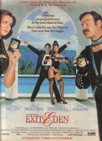 Exit to Eden (Dan Aykroyd, Rosie O'Donnell and Dana Delany) (1994)