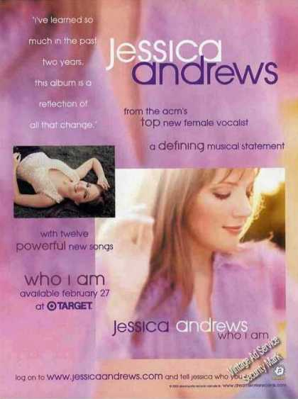 "Jessica Andrews ""Who I Am"" Album Promo (2001)"