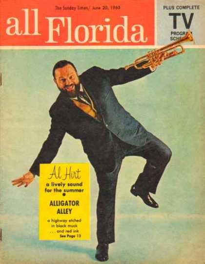 Al Hirt Article in All Florida TV Program Schedule – Sold (1963)