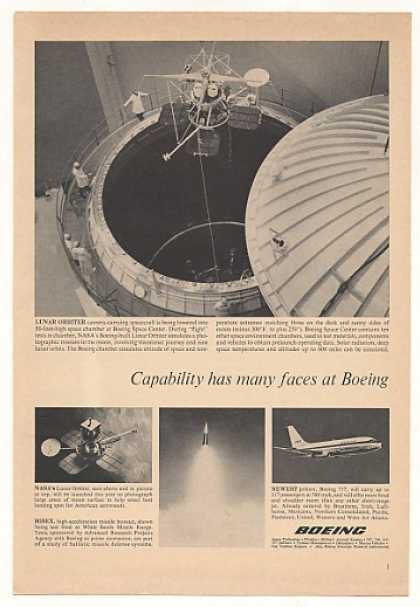 Boeing Space Center Lunar Orbiter Chamber Test (1966)